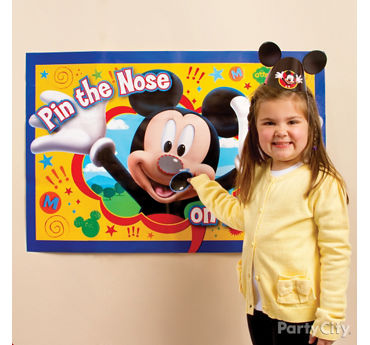 Mickey Mouse Pin It Game Idea