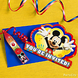 Mickey Mouse Invite with Surprise Idea