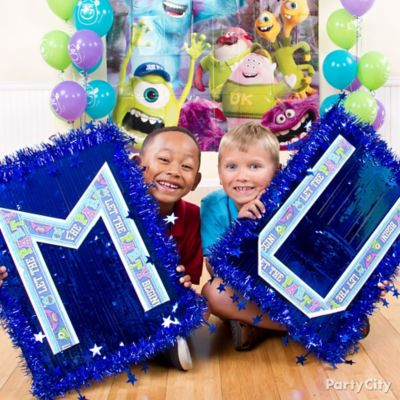 Monsters University Letter Decorating DIY