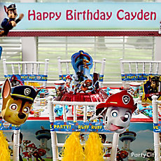 PAW Patrol Party Table Idea