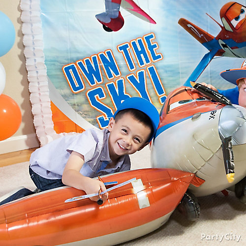 Planes Gliding Balloon Idea