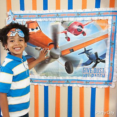 Planes Pin-It Game Idea