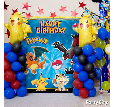Pokemon Pikachu Balloon Tower DIY