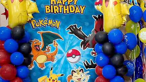 Pokemon Pikachu Balloon Tower DIY