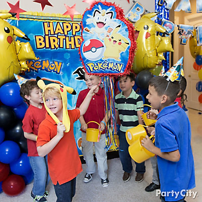 Pokemon Pinata Game Idea