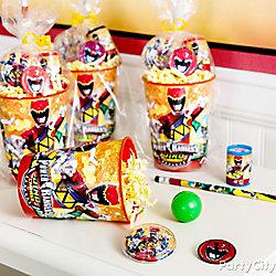 Power Rangers Favor Cup Idea