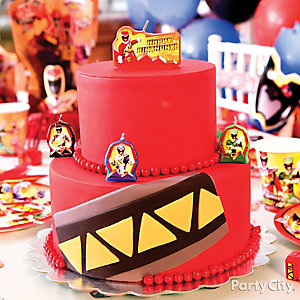 Power Rangers Fondant Cake How To