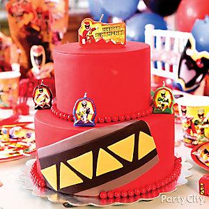 Power Rangers Fondant Cake How To