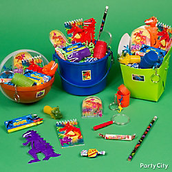 Prehistoric Dinosaur Favor Bucket Idea