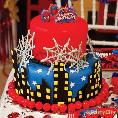 Spider-Man Cake How To