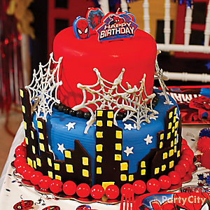 Spider Man Cake How To
