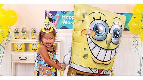 SpongeBob Gliding Balloon Idea