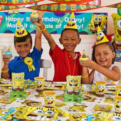 SpongeBob Party Table Idea