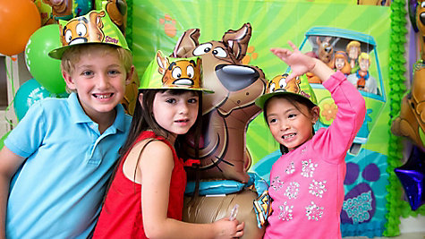 Scooby-Doo Scene Setter Idea