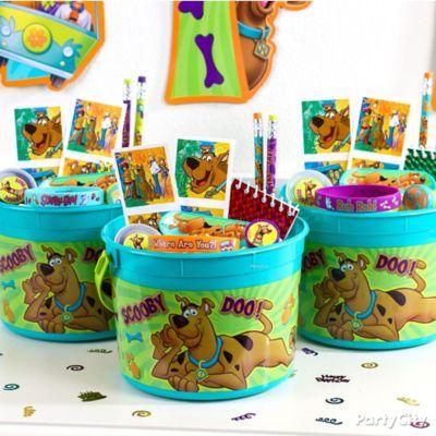 Scooby-Doo Favor Bucket Idea