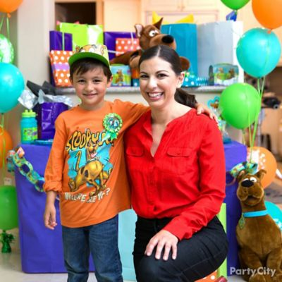 Scooby-Doo Birthday Outfit Idea
