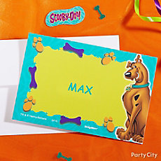 Scooby-Doo Thank You Note Idea