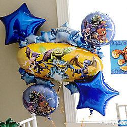 Skylanders Balloon Bouquet Idea