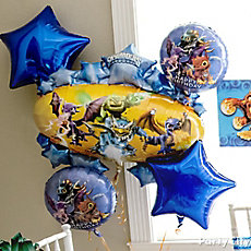 Skylanders Balloon Bouquet Idea