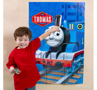 Thomas Pin It Game Idea
