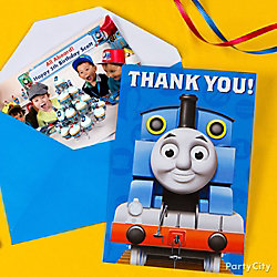 Thomas Thank You Note Idea