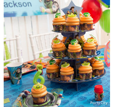 Toy Story Cupcake Tower Idea
