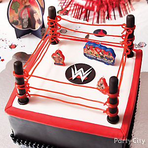 WWE Fondant Cake How To