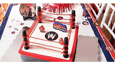 WWE Fondant Cake How To