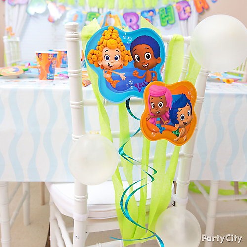 Bubble Guppies Chair Decoration DIY
