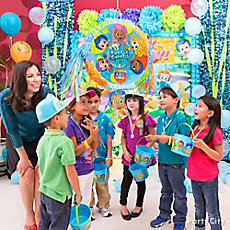 Bubble Guppies Pinata Game Idea