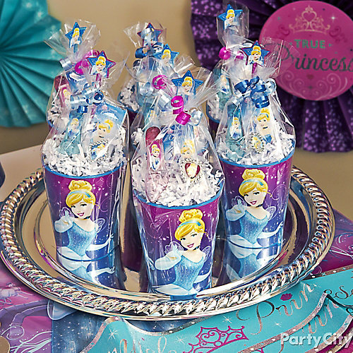 Cinderella Favor Cup Idea