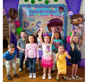 Doc McStuffins Photo Booth Idea