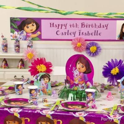 Dora Party Table Idea