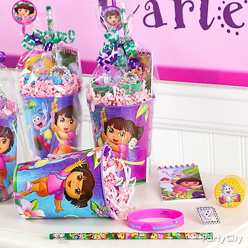 Dora Favor Cup Idea