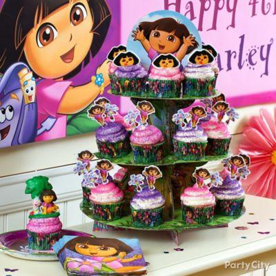 Dora Cupcakes Idea