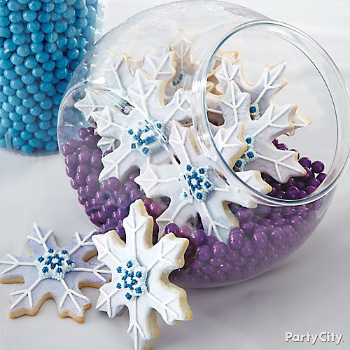 Frozen Snowflake Cookies How To