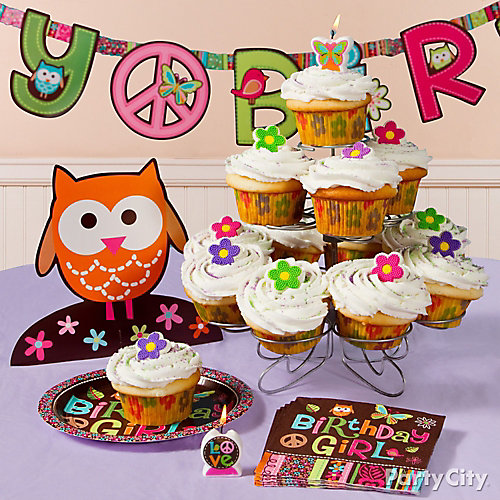Hippie Chick Cupcake Idea
