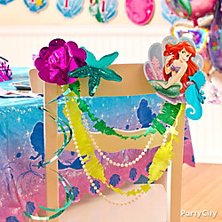 Little Mermaid Chair Deco DIY