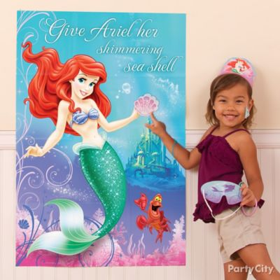 Little Mermaid Pin It Game Idea