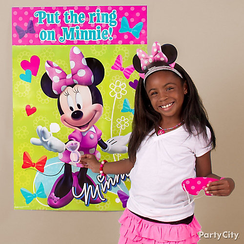 Minnie Mouse Pin It Game Idea
