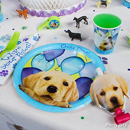 Party Pups Place Setting Idea