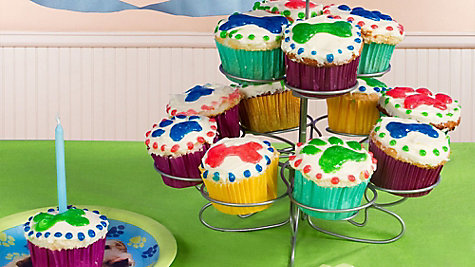 Party Pups Cupcake Tower Idea