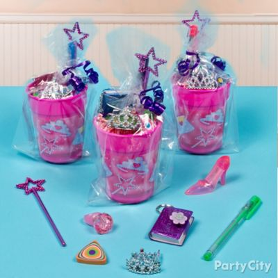 Princess Favor Cup Idea