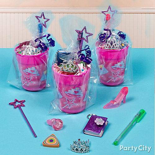 Princess Favor Cup Idea