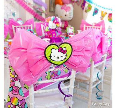 Hello Kitty Chair Deco DIY
