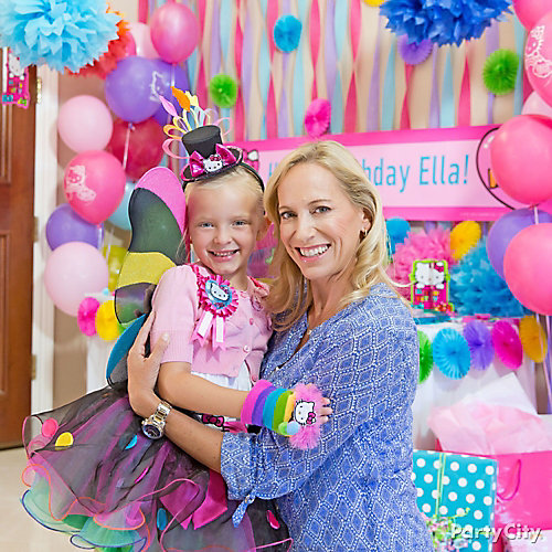 Hello Kitty Birthday Outfit Idea - Party City