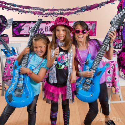 Rocker Girl Band Outfit Idea