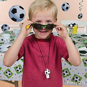 Soccer Dress Up Gear Idea
