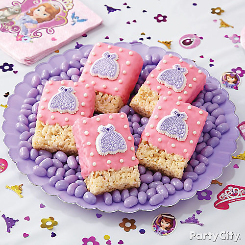 Sofia the First Cereal Bars How To