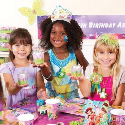 Tinker Bell Cupcake Decorating Idea